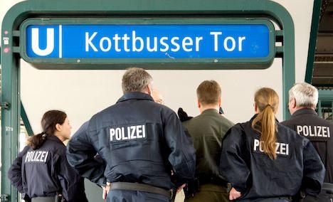 Berlin underground scares passengers