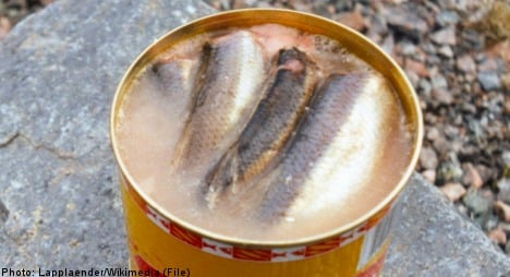 Suspected gas leak was fermented herring