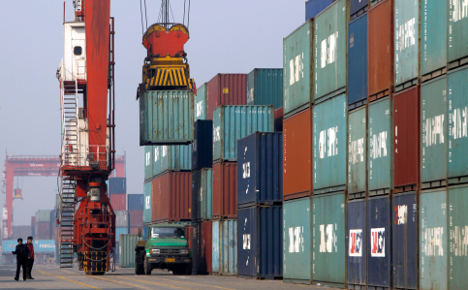 Lowest German exports for three years