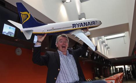 Ryanair plane lands unexpectedly in Berlin