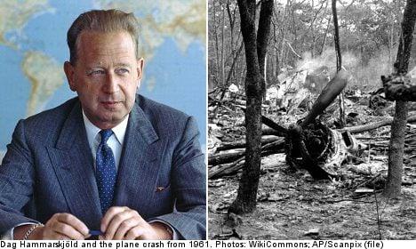 Diplomat reversal on Dag Hammarskjöld death