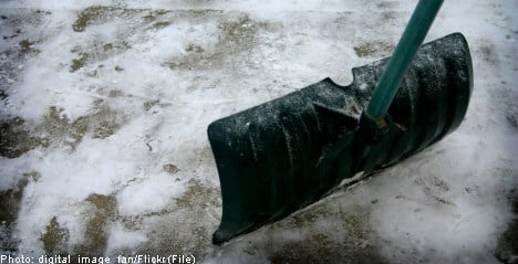 Season's 'first' snowfall hits northern Sweden