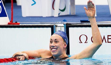 Rung swims to third medal at Paralympics
