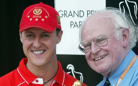 Schumi spends a penny as F1 mourns doctor