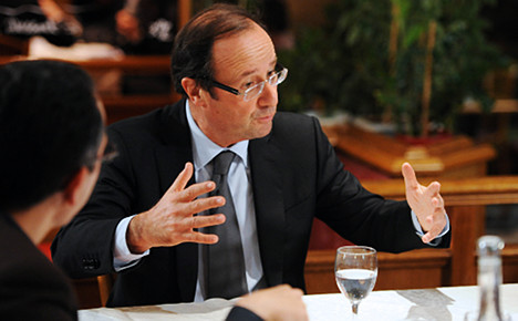 Most French are 'unhappy' with Hollande