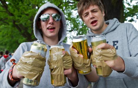 Teen drinking down – but still high