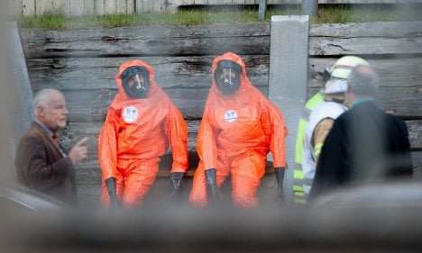 Toxic chemicals scare at Berlin US consulate