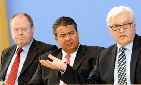 SPD turns from idea of working with Merkel