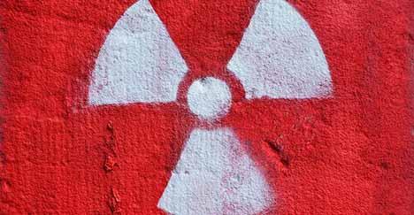 Radioactive French artist evacuates Lyon court