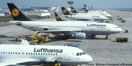 Swedish passengers hit by Lufthansa strike