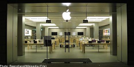 Apple glitch wipes Gothenburg off the map