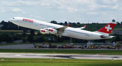 Reclining seat row sparked Swiss plane fight