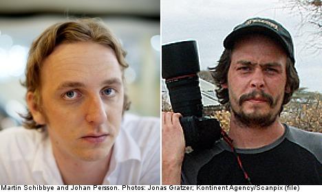Ethiopia pardons jailed Swedish journalists