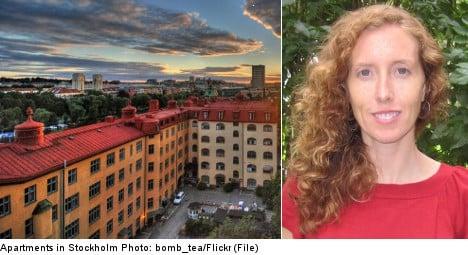 'Stockholm has to fix its housing problem'