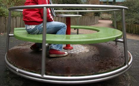 Man dies as playground dare backfires