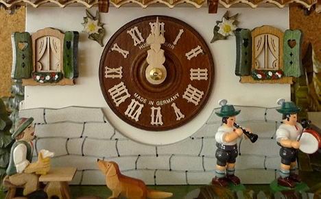 Cuckoo clocks: kitsch, colourful and cheerful