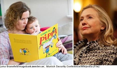 Clinton group touts Swedish childcare model