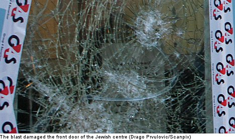 Explosion rocks Malmö Jewish centre