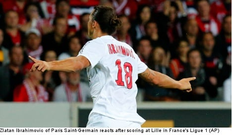 Zlatan doubles up to give PSG season's first win