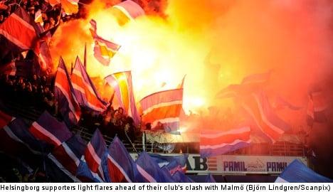 Player death threat mars Swedish football match