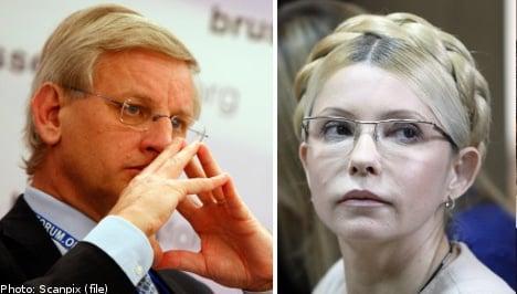 Bildt slams Ukraine over Tymoshenko meet