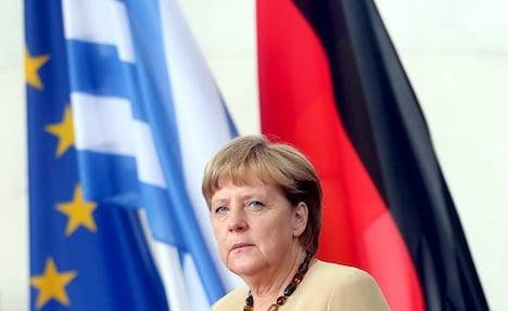 Merkel calls for a 'Greece solution'