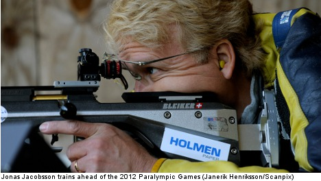 Sweden's Jacobsson shoots way to 17th Paralympic gold