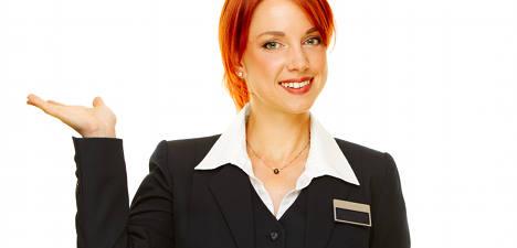 Scowling hotel boss wins sacking payout