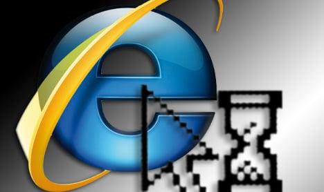 Internet Explorer security problems – warning