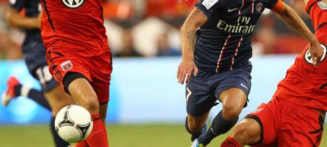 Qataris seek PSG sponsorship deal