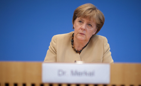 Merkel: austerity not my idea, not my fault