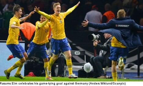 Sweden shocks Germany with historic comeback