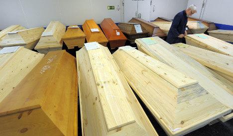 Stolen van – and 12 bodies – found in Poland