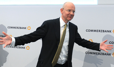 Commerzbank boss sees wages soar despite debts