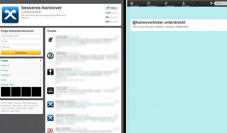 World first as Twitter blocks neo-Nazi account