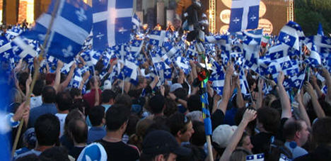 Quebec separatists cheer as French line softens