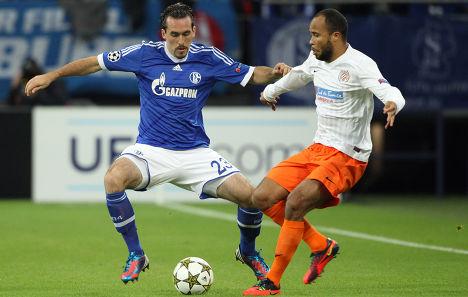 2-2 draw for Schalke against Montpellier
