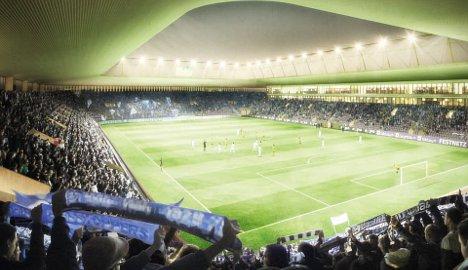 Zurich unveils plans for new football stadium