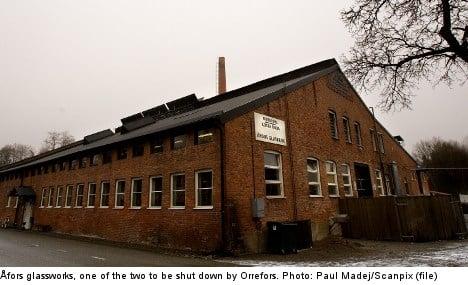 Swedish glassmaker to close Orrefors facility