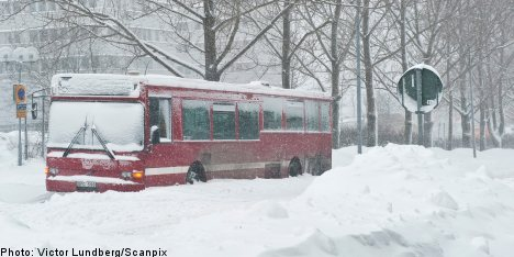 Sweden braces for week of heavy snow