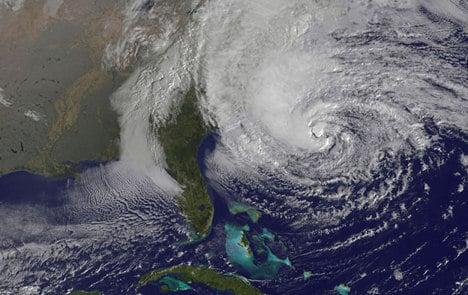 Hurricane Sandy grounds German-US flights