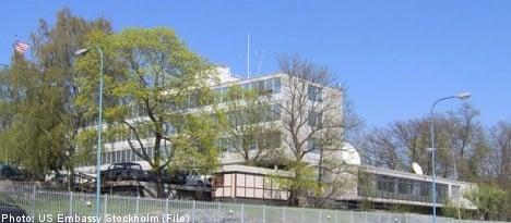 US embassy in Stockholm evacuated
