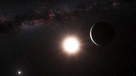 Earth-sized planet found orbiting star