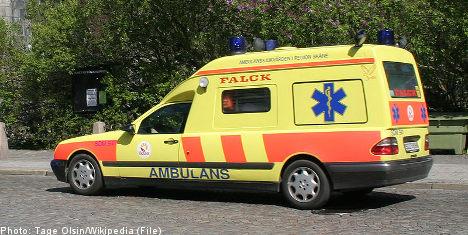 Elderly woman dies after ambulance no-show