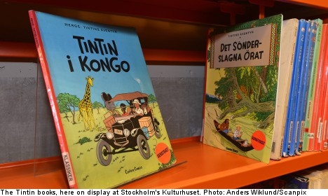 Tintin 'too racist' for one in ten Swedish libraries