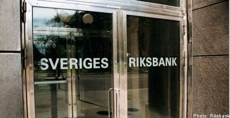 Key Swedish interest rate unchanged: Riksbank