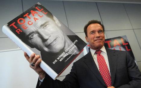Arnie at the book fair