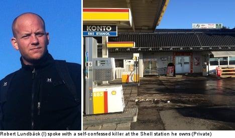 Swede in freak coffee break with Finnish killer