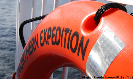 Swedish captain missing after falling overboard