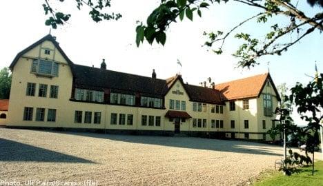 Elite Swedish school faces fine over hazing